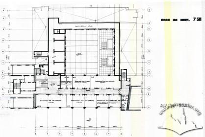 Floor-plan, third floor