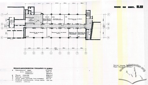 Floor-plan, fourth floor