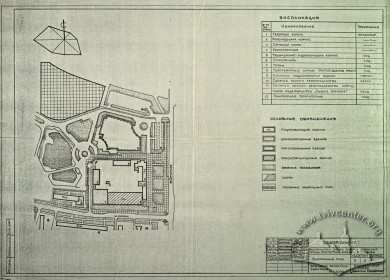 Building Plan (Lviv Prombudproekt, archives)