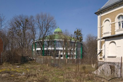 Vul. Samchuka, 14. View of the building from Franka street.