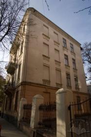 Вул. Кониського, 4а. Бічний фасад будинку (північний)