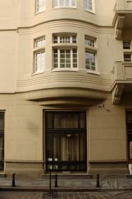 Просп. Шевченка, 27. Фрагмент фасаду з боку вул. Герцена