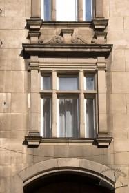 Вул. Саксаганського, 3. Вид на вікно 2-го поверху