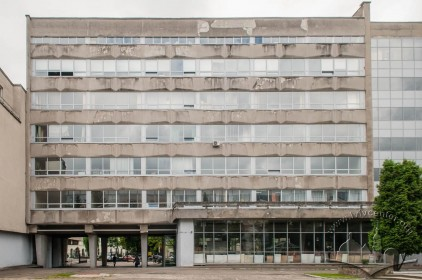 Vul. Karpinskoho, 6. Academic building #2. Part of its rear facade