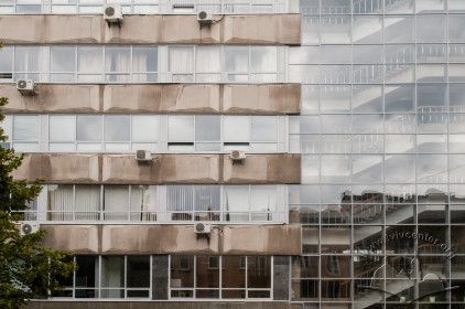 Vul. Karpinskoho, 6. Academic building #2. Part of the southeastern facade