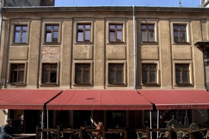 Vul. Halytska, 4. The main facade of the house