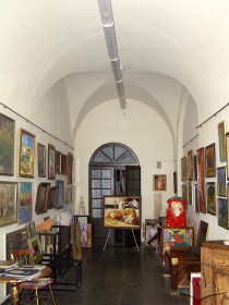 Vul. Ruska, 4. A room of the front house where Gerdan art gallery is functioning now