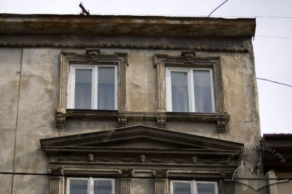 Вул. Руська, 4. Фрагмент головного фасаду