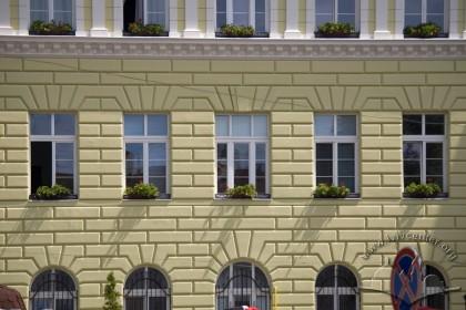Prosp. Shevchenka, 9. A part of the principal facade