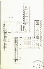 Plans of the 2nd and 3rd floors