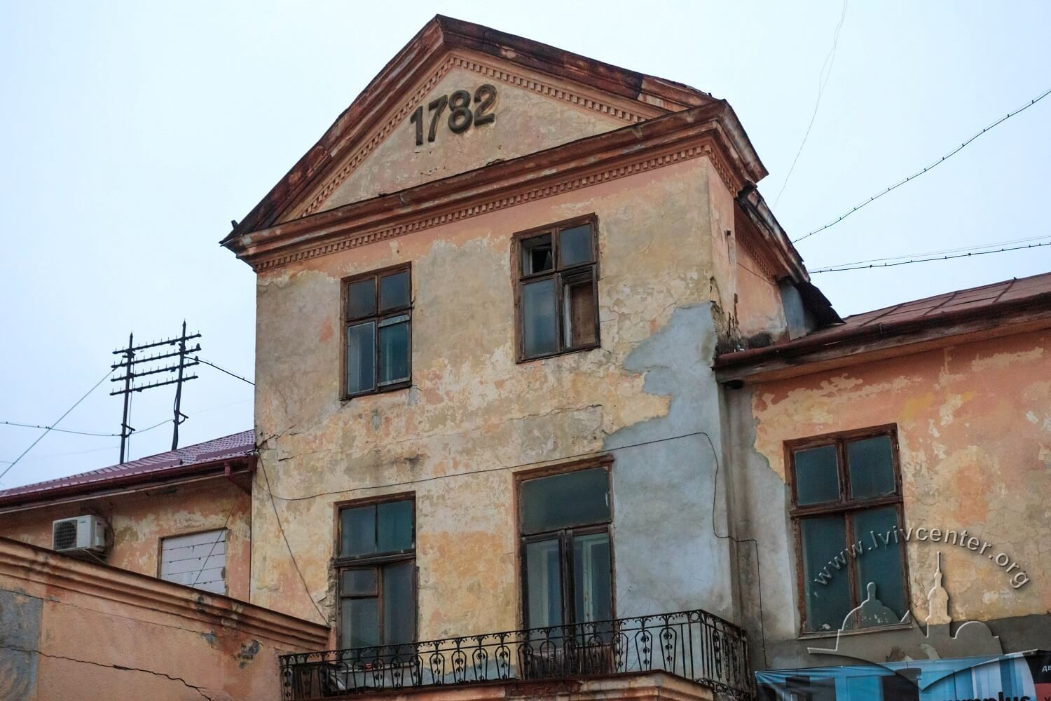 Vul. Khmelnytskoho, 114. Former Cielecki palace building which was adapted for the factory needs/Photo courtesy of Nazarii Parkhomyk, 2015