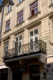 Вул. Галицька, 15. Балкон 2-го поверху