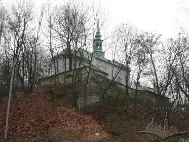 Vul. Dovbusha, 24. The church as seen from the northeast