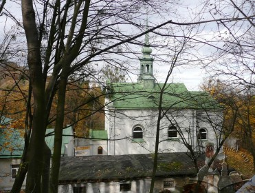 Vul. Dovbusha, 24. The church's southern facade