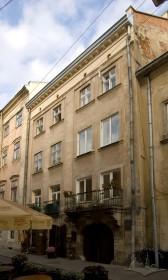 Вул. Вірменська, 15. Вид на головний фасад будинку