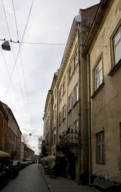 Забудова вулиці Вірменської, вигляд зі сходу