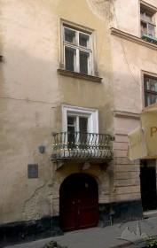 Вул. Вірменська, 17. Фрагмент головного фасаду