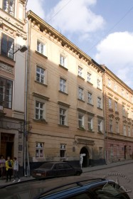Вул. Вірменська, 25. Вид на головний фасад будинку