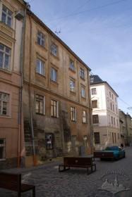 Vul. Drukarska, 6a. Building's northern facade