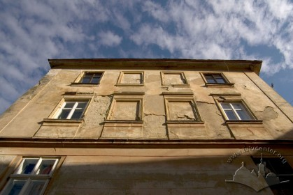 Vul. Drukarska, 6a. Building's western facade
