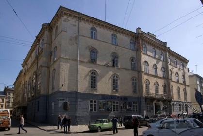 Vul. Teatralna, 22. A view of the main facade