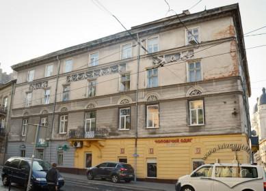 Вул. Краківська, 34. Північний фасад будинку