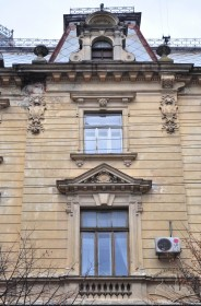 Vul. Sichovykh Striltsiv, 16. Detail of the southeatern facade
