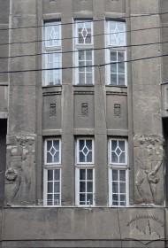 Вул. Словацького, 4. Фрагмент бічного еркера