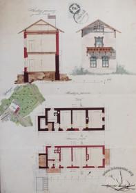 Проект реконструкції стайні і возівні на житловий будинок (1862 р.)