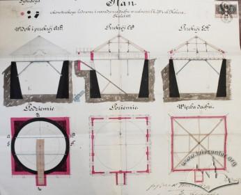 Проект реконструкції льодівні (1891 р.)