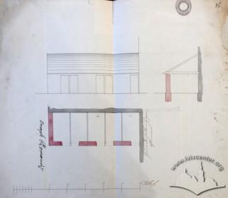 Проект, ймовірно возівні з 1846 р.