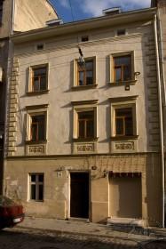 Вул. Староєврейська, 10. Головний фасад будинку