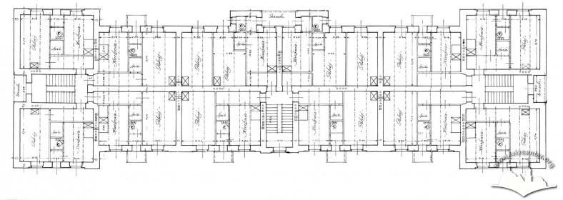 Схема плану поверху