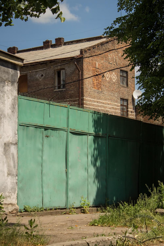 Вул. Ткацька, 29. Будівля колишньої фабрики