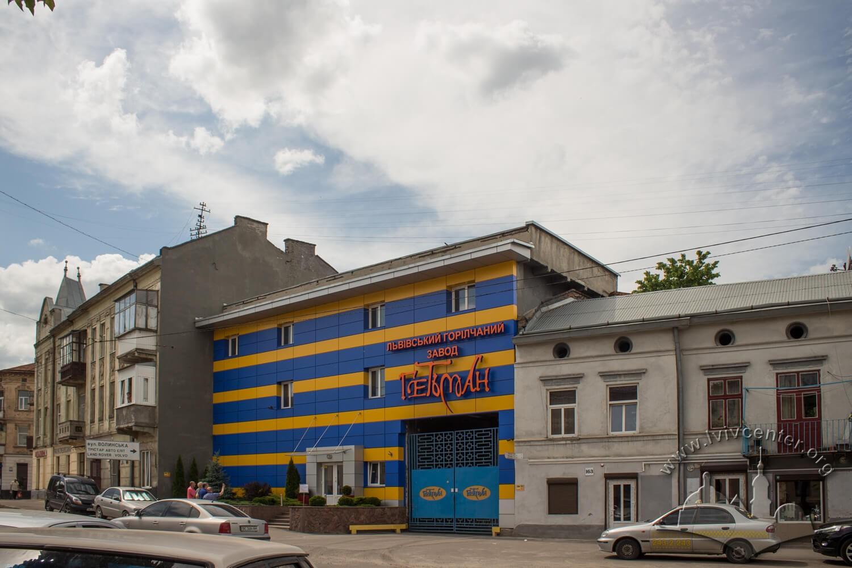 Будівля колишнього заводу