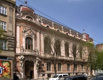 Vul. Lystopadovoho Chynu, 6. The principal facade