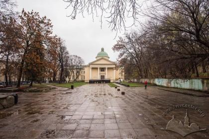 Вул. Стефаника, 2. Вигляд каплиці з вул. Коперника