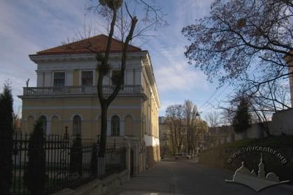 Вул. Бібліотечна, 2. Вигляд з північного заходу, на дальньому плані - пл. Шашкевича