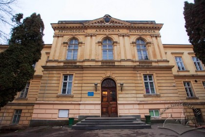 Vul. Pekarska, 52. Central avant-corps of the Anatomy Building