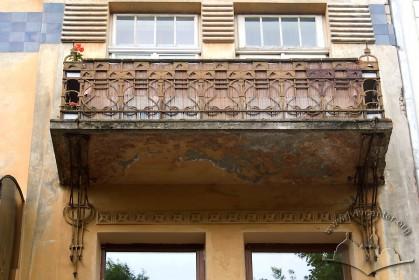 Вул. Академіка Богомольця, 8. Балкон 3-го пов.