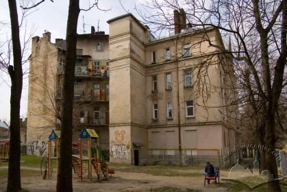 Вул. Котляревського, 67. Тильний фасад (вигляд з північного сходу)