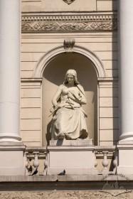 Prosp. Svobody, 28. The Drama statue in the main facade niche