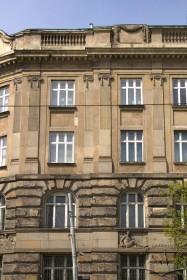 Vul. Lystopadovoho Chynu, 8. A fragment of the southeastern facade