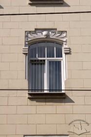 Вул. Костюшка, 1. Вікно 3-го поверху