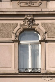 Prosp. Shevchenka, 26. A 2rd floor window