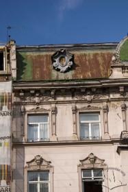 Prosp. Shevchenka, 26. A part of the principal facade