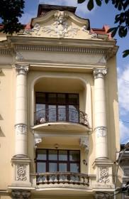 Prosp. Svobody, 35. A lateral part of the main facade
