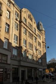 Vul. Halytska, 21. A view from vul. Halytska
