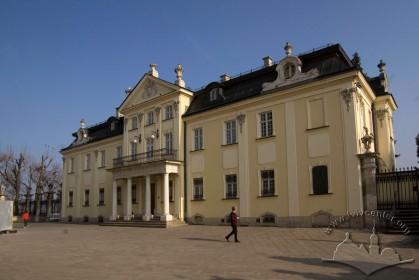 Пл. Св. Юра, 5. Вид на головний фасад палацу