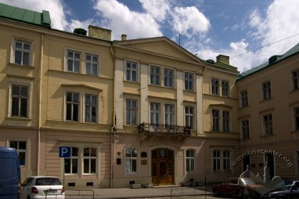 Vul. Vynnychenka, 14-16. The southern part of the building
